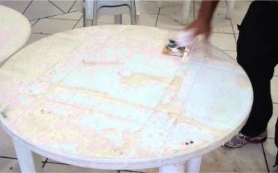 Dicas de limpeza para cadeiras e mesas